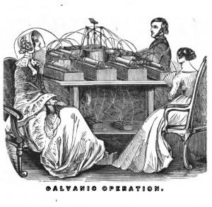 Galvanic operation