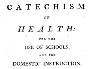 Catechism of health title page