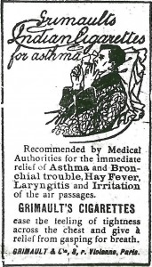 cigarettes recommended for asthma