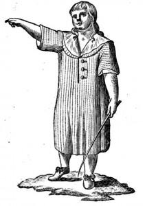 Boy in a smock