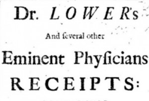 Dr Lower's remedies