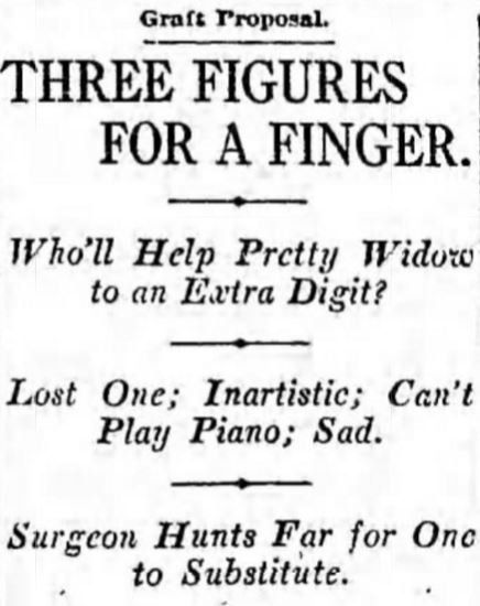 3 figures for finger