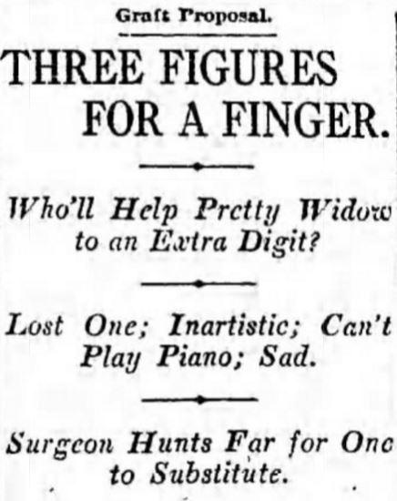 3 figures for finger