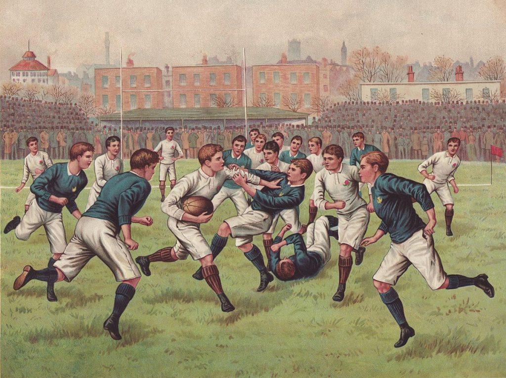 A rugby international