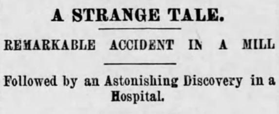 a strange tale