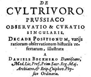 De cultrivoro prussiaco