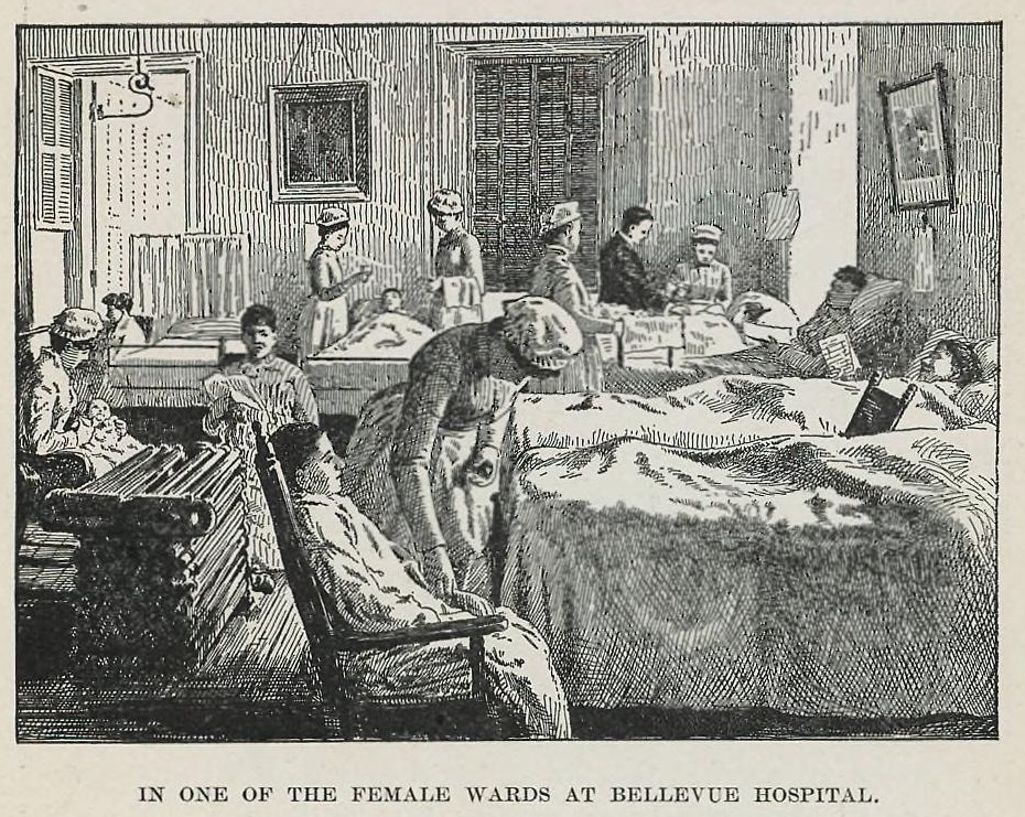 women's ward at the Bellevue
