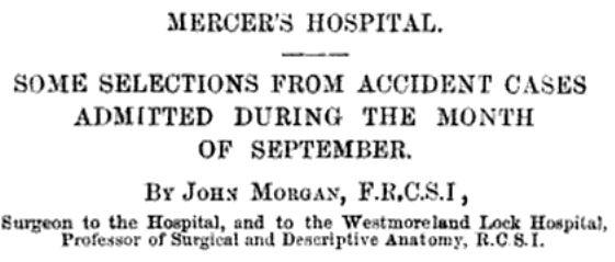 Mercer's hospital