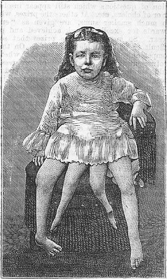 Myrtle as a child