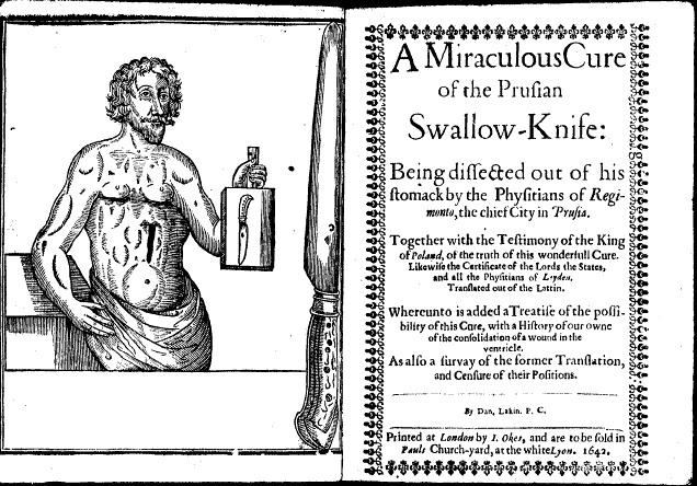 The case of the drunken Dutchman's guts