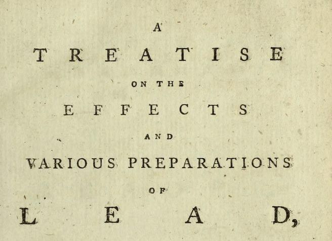treatise on lead
